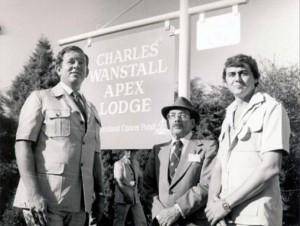 Charles Wanstall Apex Lodge opening