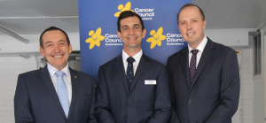 CCQ's CEO Professor Jeff Dunn AO joined Federal Minister Peter Dutton and Trevor Evans LNP for the funding grant announcement at CWAL