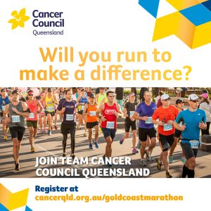 Run to make a difference. Gold Coast Marathon