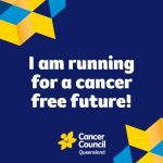 I am running for a cancer free future. Gold Coast Marathon