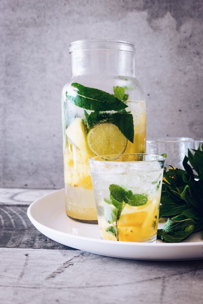 Try infusing water with fruit for a flavour boost
