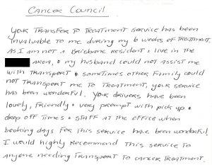 Volunteer Voice - Cancer Council Queensland