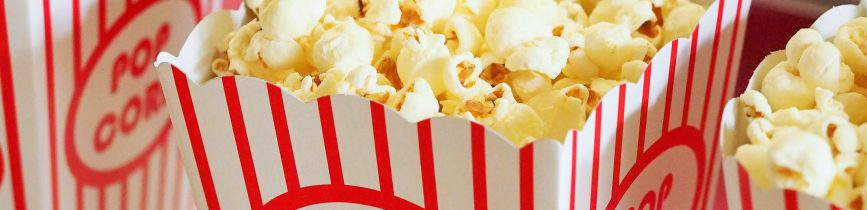 popcorn snack for Girls' Night In movie night